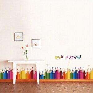 DIY Mural Pencil Back To Schoo