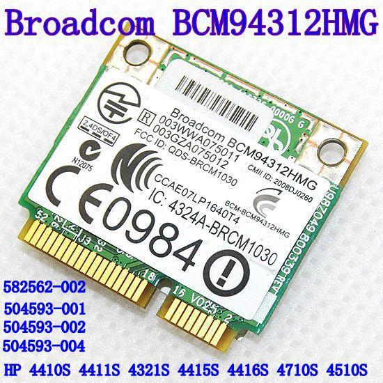 Broadcom Bcm94312hmg Bcm4312 Half Mini Pci-e Wireless Wifi Card 802.11 B G(China)
