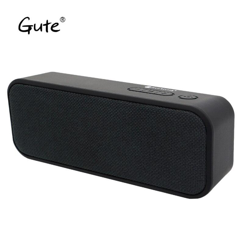 Gute tela caliente arte cuadrado altavoz Bluetooth tela woofer portátil radio FM inalámbrico caixa de som alto falante altavoz s5 lun