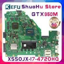 KEFU W50J для ASUS X550JD X550JK FX50J A550J X550J FX50J X550JX K550J I7 материнская плата для ноутбука протестированы 100% работу оригинальная материнская плата