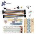 Макет Tools Kit ж/Модуль Питания Макет/Перемычку/Резистор/LED/Кнопка для Arduino DIY