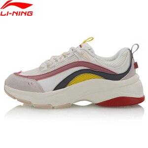 Image 3 - (Código de quebra) li ning mulher aurora windwalker estilo de vida sapatos retro forro li ning esporte sapatos conforto tênis agcp108 yxb307
