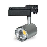 360 Degree Rotatable LED Track Lighting LED Track Light Zoom Adjustable 30W Rail Spot LED Tracking Lights Rail Lamp Art Deco