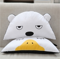 1 PCS 58 25 15CM Lovely Cute Cartoon Soft Comfortable Baby Semi Circle Cushion Pillows Sleep