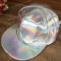 Новый ИСКУССТВЕННАЯ кожа марка snapback бейсболка спортивная шапка Женщины Мужчины хип-хоп женщины gorras кости мужчины