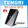 Desbloqueado huawei b970 b970b 3g router hsdpa gateway sem fio wi-fi router com slot para cartão sim 4 porta lan