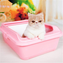 Enclosed Large Closed Cat Litter Box Health Supplie Plastic Cat Toilet Litter Bed Pan Sand Basin Pets House Trays Dog DDM2AA3