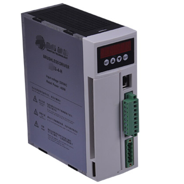 SHLS-04-H 400W 220V max.4.9A brushless DC motor driver dc BLDC servo driver 57 brushless servomotors dc servo drives ac servo drives engraving machines servo