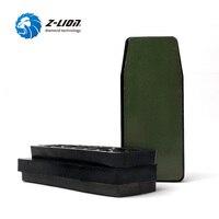 Z LION 3pcs Diamond Frankfurt Grinding Block Resin Bond Abrasive Manufacturer Supply Stone Polishing Abrasive Fickert