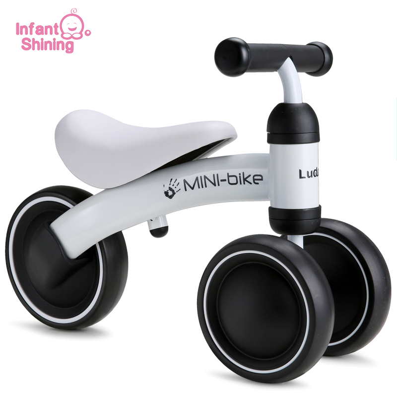 Infant Shining Baby Walker Kids Bike Toy Kids Ride Bike 1 3 Years Baby Ride on Toys for Learning Walk Baby Bike Scooter Safety
