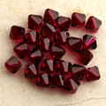 K9 Crystal 3mm 4mm 6mm 8mm 5301# Grade AAAA Dark Siam color glass crystal Bicone Beads