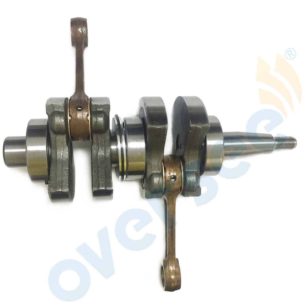 15HP 63V 11400 01 CRANKSHAFT ASSY For 2 Stroke 9 9HP 15HP Yamaha Outboard Engine Parsun