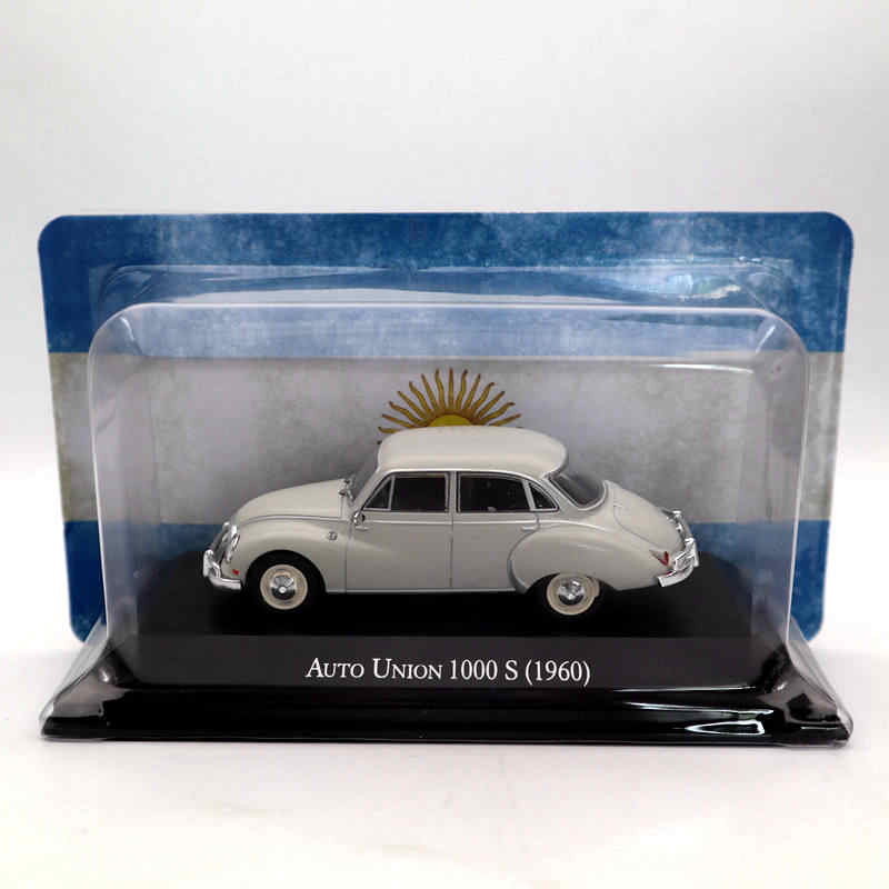 IXO Altaya 1:43 Auto Union 1000 S 1960 Diecast Models Limited Edition Collection Toys Car Gift