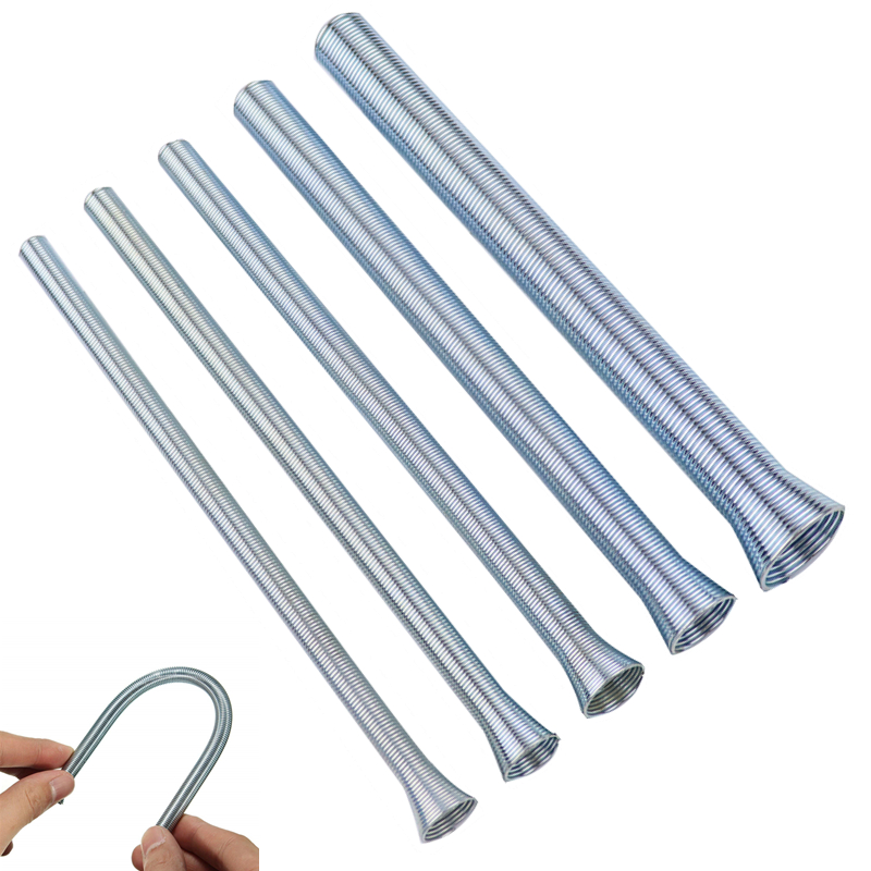 5pcs Spring Tube Bender 210mm Tension Spring Pipe Bender 1/4