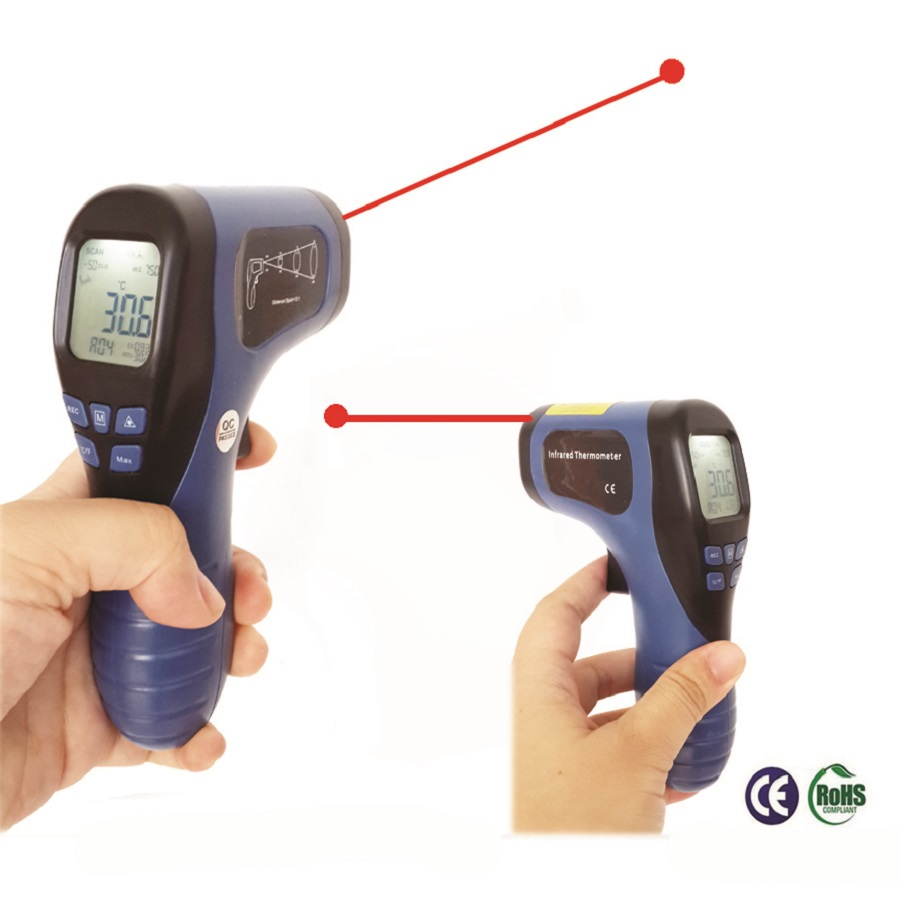 Outdoor Infrared Thermometer Digital Thermometer Termometro s