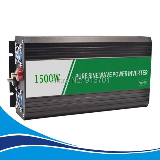 DC AC inverter 1500W pure sine wave inverter peak power 3000W 12V 220V or 12V 220v 1500W inversor de onda sinusoidal puraDC AC inverter 1500W pure sine wave inverter peak power 3000W 12V 220V or 12V 220v 1500W inversor de onda sinusoidal pura