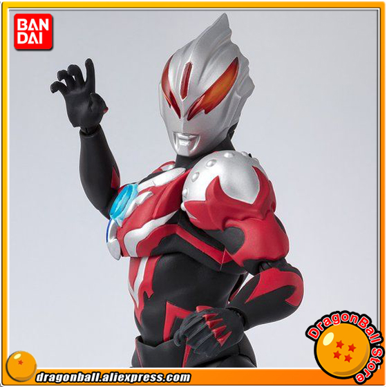 Ultraman ORB Original BANDAI Tamashii Nations S.H. Figuarts / SHF Exclusive Action Figure - Ultraman Orb Thunder Breastar 100% original bandai tamashii nations s h figuarts shf exclusive action figure ultraman suit ver 7 2 from ultraman