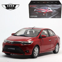 Brand New 1 18 Scale Japan Toyota New Vios Diecast Metal Car Model Toy For Collection