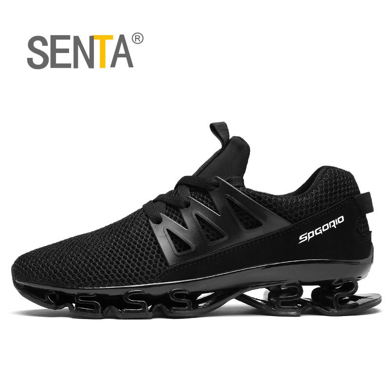 SENTA 2017 Blade summer brand sneakers men outdoors breathable sports running shoes for men sports used on treadmill TK10