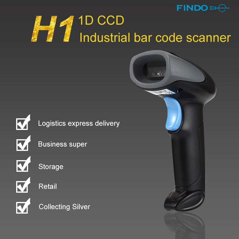 5pcs Portable High Speed 300 scans/second Scan Rate Handheld CCD Barcode Scanner Reader USB Wired 1D Bar Code for POS System zhiyun crane m 3 axle handheld stabilizer gimbal remote controller case for dslr camera support 650g smartphone camera f19238 a