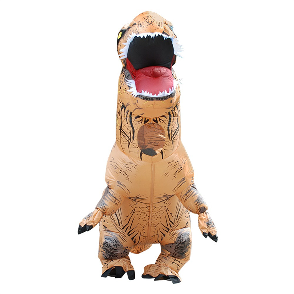 Inflable T-Rex dinosaurio  traje de fiesta juguetes al aire libre juego educativos niños 32