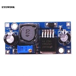 Image 2 - 50pcs LM2596S LM2596 ADJ DC DC Step down module 5V/12V/24V adjustable Voltage regulator 3A(green)