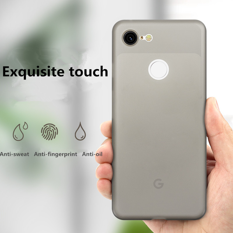For Google Pixel XL CASE Pixel2 Pixel 2 3 XL Case With Protector Shell Soft PP Ultra-thin Phone Back Cover Coque