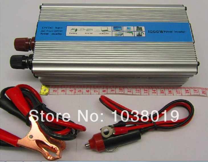 цена на 1000W-Modified Sine Wave power inverter 1000w peak 2000W DC12V to AC 220V dc ac Power Inverter-2