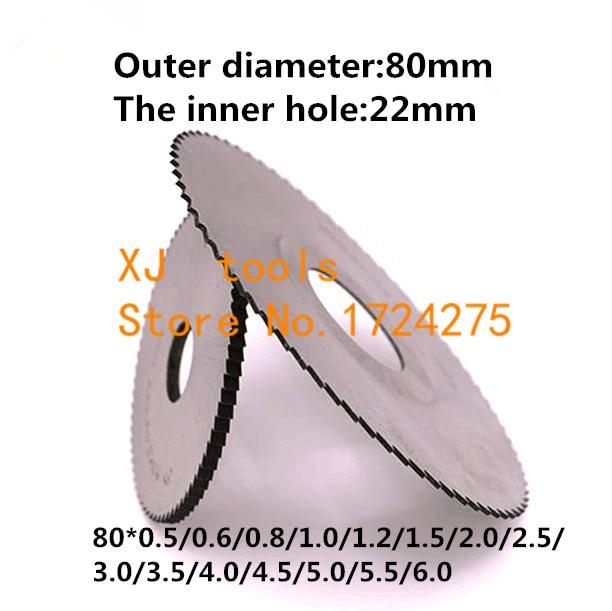 1PCS HSS milling cutter 80*0.5/0.6/0.8/1.0/1.2/1.5/2.0/2.5/3.0/4.0/5.0,Slotting cutter,saw blade milling cutter,milling pin tool1PCS HSS milling cutter 80*0.5/0.6/0.8/1.0/1.2/1.5/2.0/2.5/3.0/4.0/5.0,Slotting cutter,saw blade milling cutter,milling pin tool