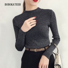 BOBOKATEER knitted sweater women invierno 2019 pull femme hiver pullover christmas mujer