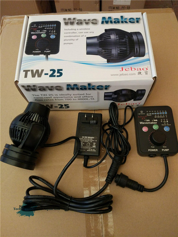 Pumps (water) Clever Jebao Wp-10p Wp-25p Wp-40p Wp-60p Wave Maker Powerhead Pump No Controller Factories And Mines Pet Supplies