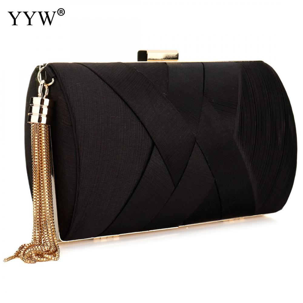 Famous Brand Fashion Female Evening Party Bag Red Nylon Women Handbags Blue Small Clutch Bag Pink Casual Tassel Shoulder Bags lydian velvet trunk bag 2018 winter new ostrich feather handbags tassel small women bag pink kiss lock shoulder messenger clutch