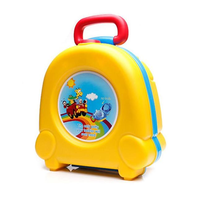 Baby Portable Car Travel Toilet Infants Outdoor Convenient Potty Seat Training Children Outside Toilet Pot Kids Squatty Potty | Happy Baby Mama
