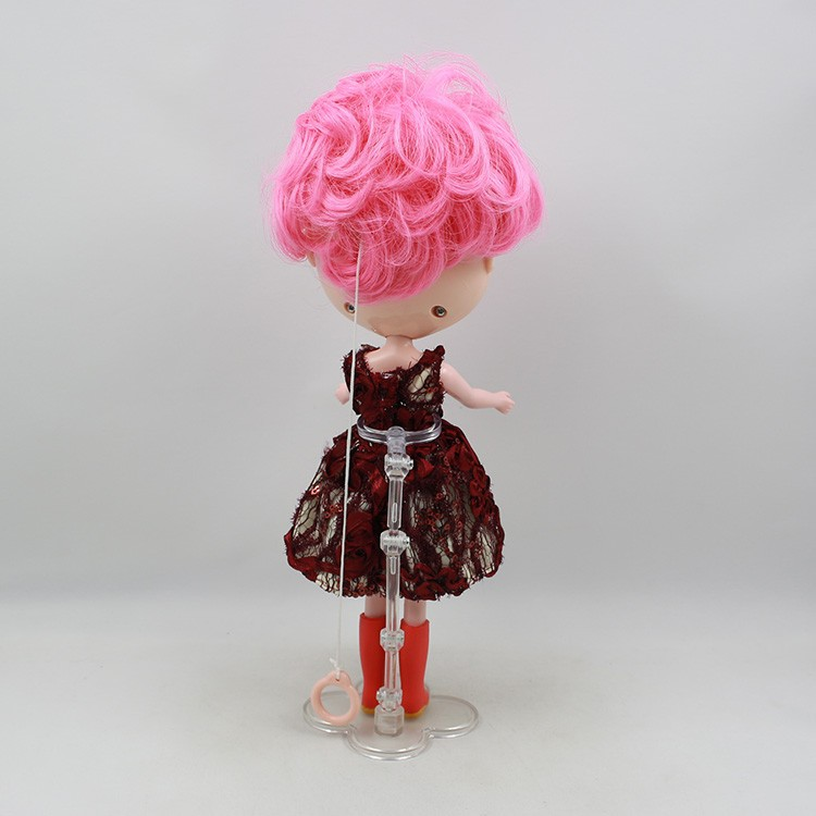 Neo Blythe Doll Pink Stand 15