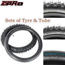 Колесная шина tdpro с внутренней трубкой для квадроцикла 70/100