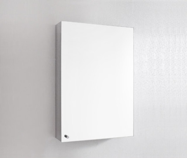 Free shipping wall-mounted stainless steel bathroom cabinet mirror with storage function