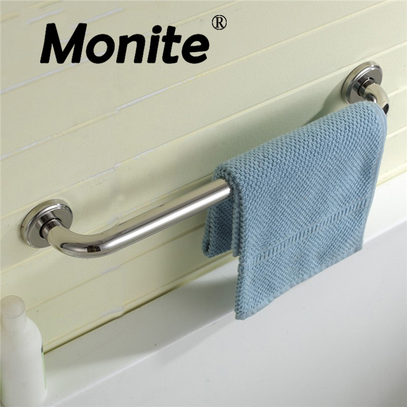 Stainless Steel Grab Bar Handle Support Bathroom Use Wall Mount 30/40/50 CM