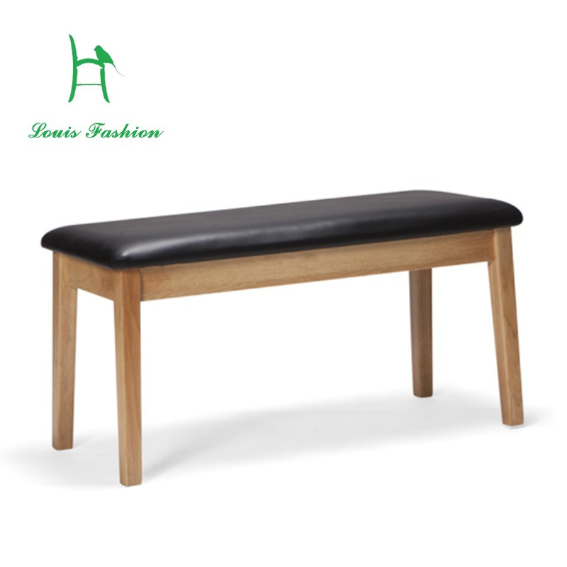 Wonderful Warmth Of Leisure Solid Wood Bench Japanese Table Stool Soft Bag Contracted  And Contemporary Stool Benches
