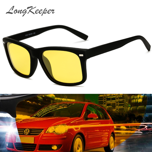 08db090c10 LongKeeper 2018 Hot Men s Polarized Driving Sunglasses Car Drivers Safety Night  Vision Goggles Anti-Glare Polarizer Sun glasses