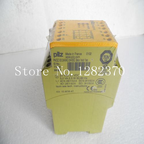 все цены на  New PILZ safety relays PNOZ X3 24VAC 24VDC 3n / o 1n / c 1so spot  онлайн