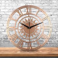 3d wall   clock   Creative Retro Decorative wall   clocks   Sun Roman Digital Acrylic vintage wall   clock   AUG 2