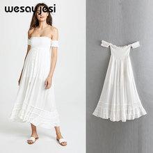 2019 summer spring dress women vestidos england style short sleeve a line white midi de fiesta party