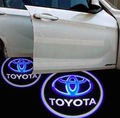 Автомобиль Приветствуется дверь проектор Логотип Тень свет для Toyota Yaris Corolla Matrix Camry Avalon Сиенна RAV4 Venza Highlander Prado
