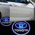 La puerta de coche Bienvenido Logo proyector Sombra luz para Toyota Yaris Corolla Matrix Camry RAV4 Venza Avalon Sienna Highlander Prado