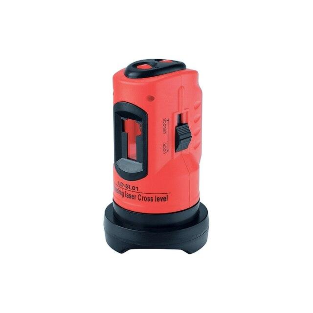 Лазерный уровень MATRIX 35023 (расстояние замера до 10 м, пластиковый ударопрочный корпус, аккумуляторные батареи 2хАА, штатив и сумка в комплекте)