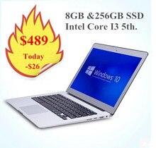 "13.3"" Windows 10 Intl Core I3 ultrabook laptop, 8GB RAM &256GB SSD, backlit keyboard & 1920*1080 HD screen aluminium notebook(China (Mainland))"