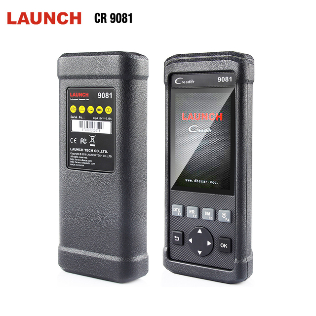 Best Offers 2018 Newest Launch OBD2 Automotive Scanner Creader 9081 Support ABS SRS TPMS Oil EPB DPF ODB OBD2 Scanner CR9081 Diagnostic Tool
