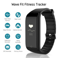 Smart Band RIVERSONG Wave Fit Smart Bracelet Bluetooth 4 0 Sleep Tracker Distance Calorie Counter Heart