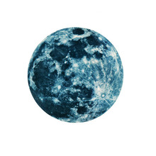 Removable 3D Moon Glow In The Dark Fluorescent Wall Sticker Kid Room Decoration Christmas Home Decor стоимость