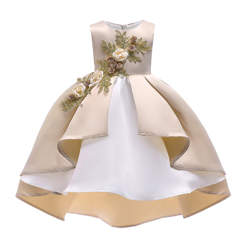 Children clothing girl princess party dress girl bow clothes baby wedding flower dress kids tutu dresses for girls 2-10 year old baby girls dress newborn girl clothes children clothing princess flower girl dresses summer children clothing baby stripes dress